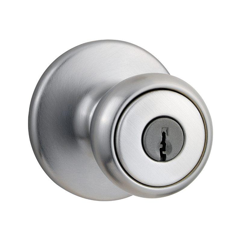 Clarks Lock & Safe   Tylo Keyed Entry - Satin Chrome