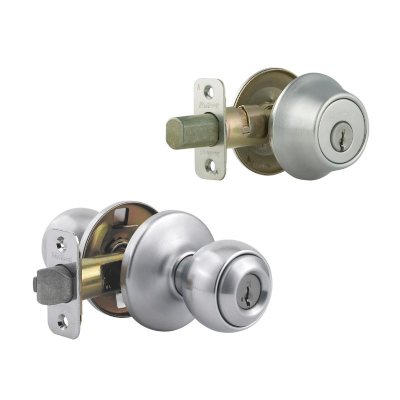 Kwikset - 690P 26D - Polo Combo Pack - Satin Chrome