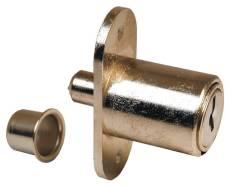 US Locks - US1460KD  - SLIDING DOOR PUSH LOCK 7/8