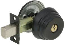 US Locks - USN1680S110B  - N1680 DEADBOLT SGL CYL 2-3/8