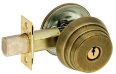 US Locks - USN1680S15A  - N1680 SER DEADBOLT SGL CYL 2-3/8